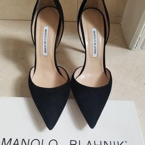 Manolo Blahnik d'Orsay Pump
